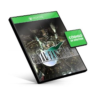 FINAL FANTASY VII Xbox One Código 25 Dígitos