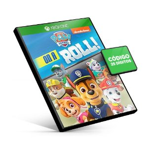 Paw Patrol: On a Roll Xbox One Código 25 Dígitos