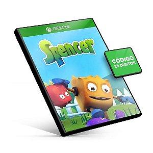 Spencer Xbox One Código 25 Dígitos