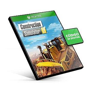Construction Simulator 2 US - Console Edition Xbox One Código 25 Dígitos