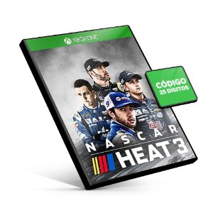 NASCAR Heat 3 Xbox One Código 25 Dígitos