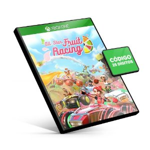 All-Star Fruit Racing Xbox One Código 25 Dígitos