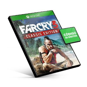 Far Cry®3 Classic Edition Xbox One Código 25 Dígitos