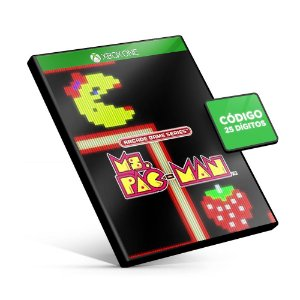 ARCADE GAME SERIES: Ms. PAC-MAN Xbox One Código 25 Dígitos