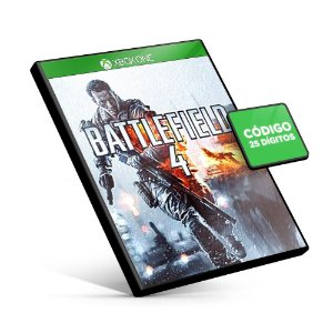 Battlefield 4 Xbox One Código 25 Dígitos
