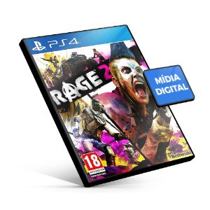 Rage 2 PS4 Mídia Digital