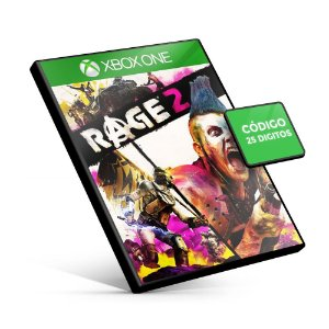 Rage 2 - Xbox One - Código 25 Digitos