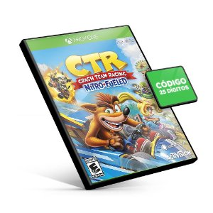 Crash Team Racing Nitro-Fueled Xbox One Código 25 Digitos