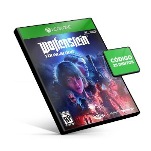 Wolfenstein Youngblood Xbox One Código 25 Digitos