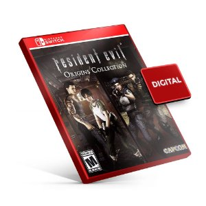 Resident Evil Origins Collection - Nintendo Switch Mídia Digital
