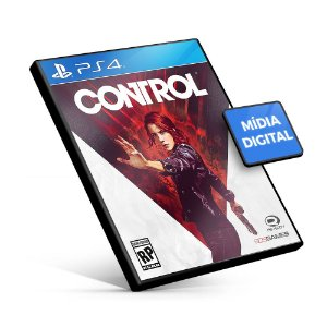 Control - PS4 Mídia Digital
