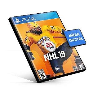 EA Sports NHL 19 - PS4 - Mídia Digital