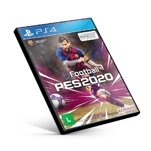 PES PRO EVOLUTION SOCCER 2020 - PS4 MÍDIA DIGITAL
