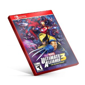 MARVEL ULTIMATE ALLIANCE 3: The Black Order - Nintendo Switch Mídia Digital