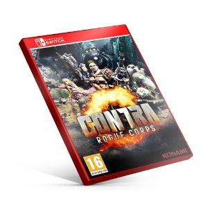 CONTRA ROGUE CORPS - Nintendo Switch Mídia Digital