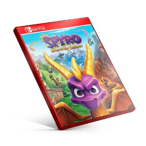 Spyro Reignited Trilogy - Nintendo Switch Mídia Digital