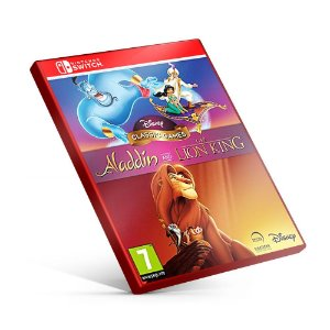 Disney Classic Games: Aladdin and The Lion King - Nintendo Switch Mídia Digital