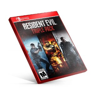 Resident Evil Triple Pack - Nintendo Switch Mídia Digital