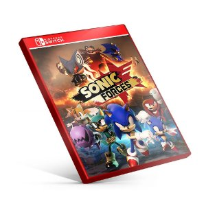 Sonic Forces - Nintendo Switch Mídia Digital