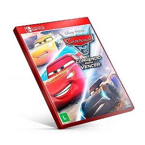 Carros 3: Correndo para Vencer - Nintendo Switch Mídia Digital