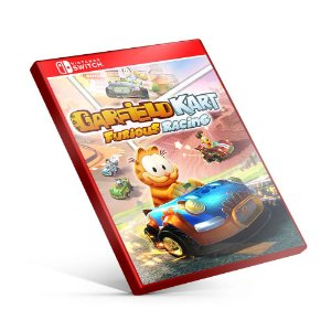 Garfield Kart Furious Racing - Nintendo Switch Mídia Digital