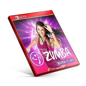 Zumba Burn It Up! - Nintendo Switch Mídia Digital