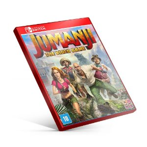 JUMANJI The Video Game - Nintendo Switch Mídia Digital