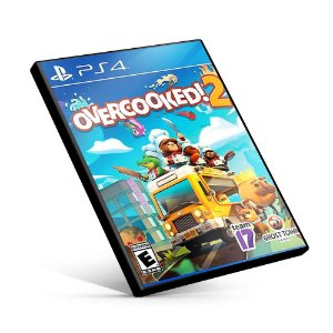 Overcooked! 2 - PS4 MÍDIA DIGITAL