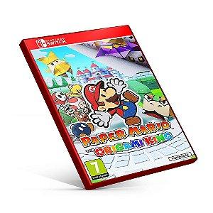 Paper Mario The Origami King - Nintendo Switch Mídia Digital