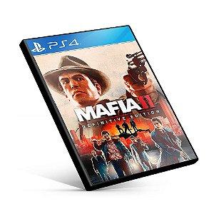 Mafia II: Definitive Edition - PS4 Midia Digital