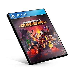 Minecraft Dungeons - PS4 Mídia Digital