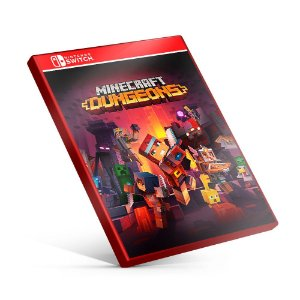 Minecraft Dungeons - Nintendo Switch Mídia Digital