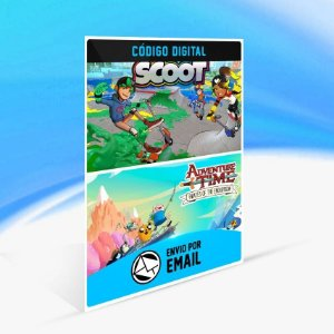 Adventure Time: Pirates of the Enchiridion and Crayola Scoot - Xbox One Código 25 Dígitos