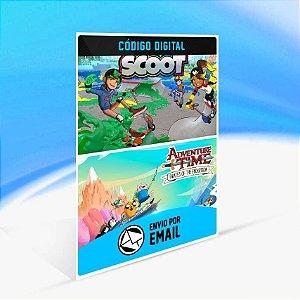 Adventure Time: Pirates of the Enchiridion and Crayola Scoot - Xbox One Código 25 Dígitos