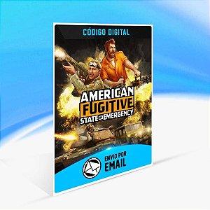 American Fugitive - Xbox One Código 25 Dígitos