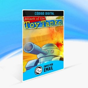 Attack of the Toy Tanks - Xbox One Código 25 Dígitos