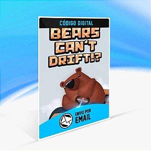Bears Can't Drift!? - Xbox One Código 25 Dígitos