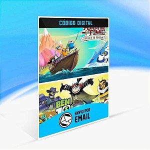 Ben 10 and Adventure Time: Pirates of the Enchiridion Bundle - Xbox One Código 25 Dígitos