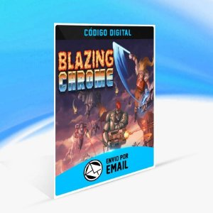 Blazing Chrome - Xbox One Código 25 Dígitos