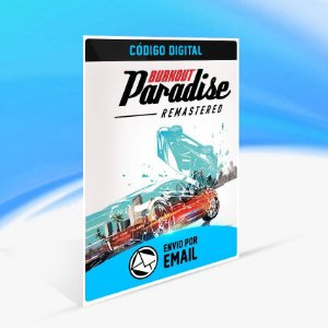 Burnout Paradise Remastered - Nintendo Switch Código 16 Dígitos