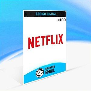 Cartão Vale Presente Netflix Play R$100 REAIS - BRASIL