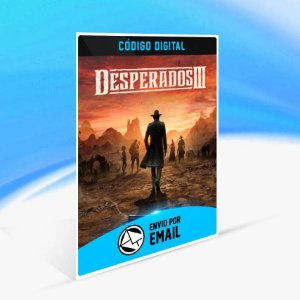 Desperados III - Xbox One Código 25 Dígitos