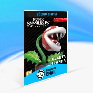 DLC Planta Piranha - Nintendo Switch Código 16 Dígitos