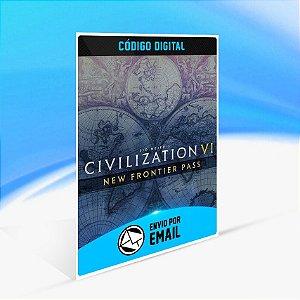 DLC Sid Meier's Civilization VI - Passe Nova Fronteira - Nintendo Switch Código 16 Dígitos