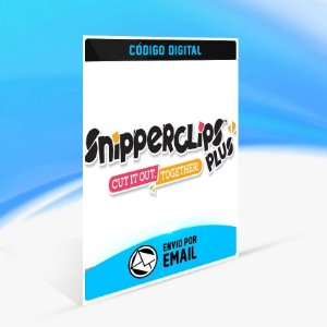 DLC Snipperclips - Cut it out, together! - Nintendo Switch Código 16 Dígitos