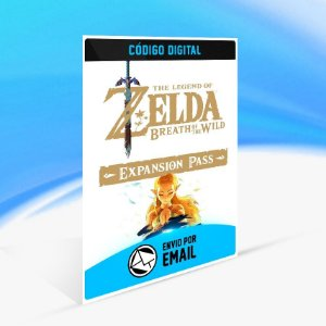 DLC The Legend of Zelda  Breath of the Wild Expansion Pass - Nintendo Switch Código 16 Dígitos
