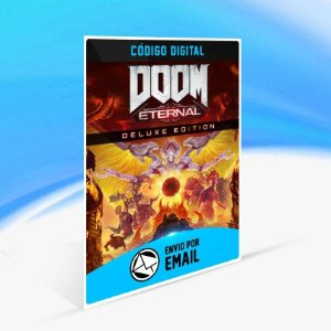 DOOM Eternal Deluxe Edition - Xbox One Código 25 Dígitos