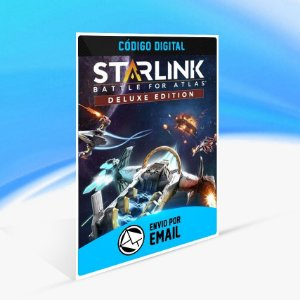 Edição Deluxe de Starlink  Battle for Atlas - Nintendo Switch Código 16 Dígitos