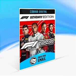 F1 2020 F1 Seventy Edition - Xbox One Código 25 Dígitos