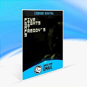 Five Nights at Freddy's 3 - Xbox One Código 25 Dígitos